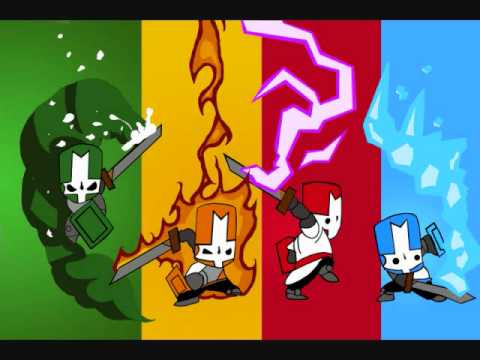 Castle Crashers - Flutey (Map / Character Select Screen) - YouTube on