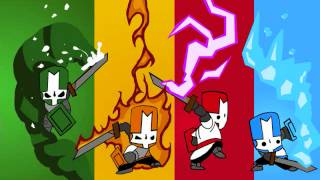 Castle Crashers - Flutey (Map / Character Select Screen)