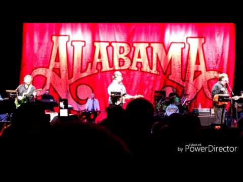 Alabama Southern Drawl Tour, Knoxville Civic Coliseum, Knoxville, TN October 21, 2016