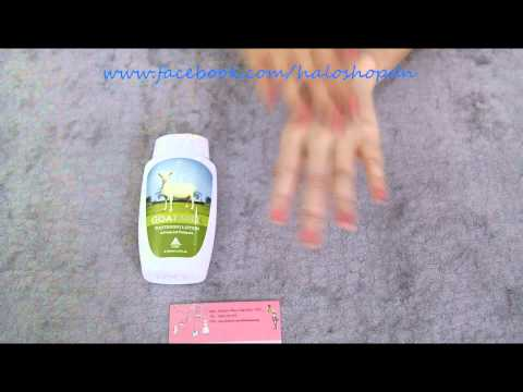 Halo shop - Review Goat milk whitening lotion