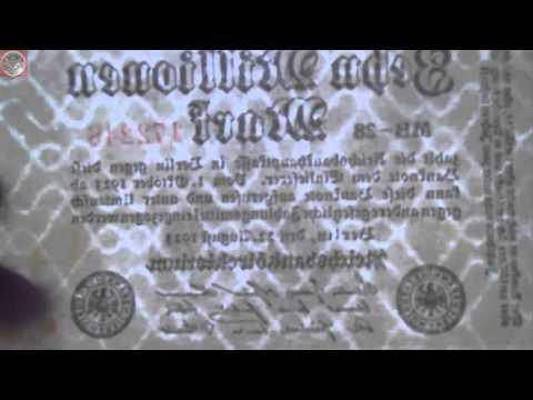 Geldscheine aus dem Deutschen Reich - Update