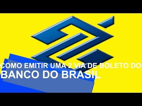 BANCO DO BRASIL 2 VIA DO BOLETO - COMO ATUALIZAR BOLETO BB
