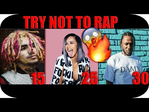 Try Not To Rap (Rappers Age 15-30) 😱🔥*W⚠️RNING: EXTEMELY LIT*
