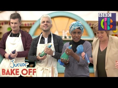 piping-challenge-|-junior-bake-off-|-cbbc