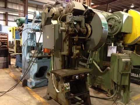 Used L&J OBI Punch Press, #25232