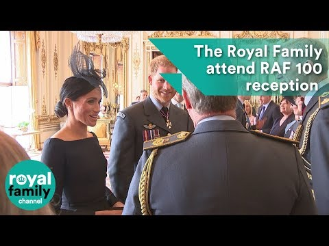 The Royal Family attend Buckingham Palace reception for RAF1