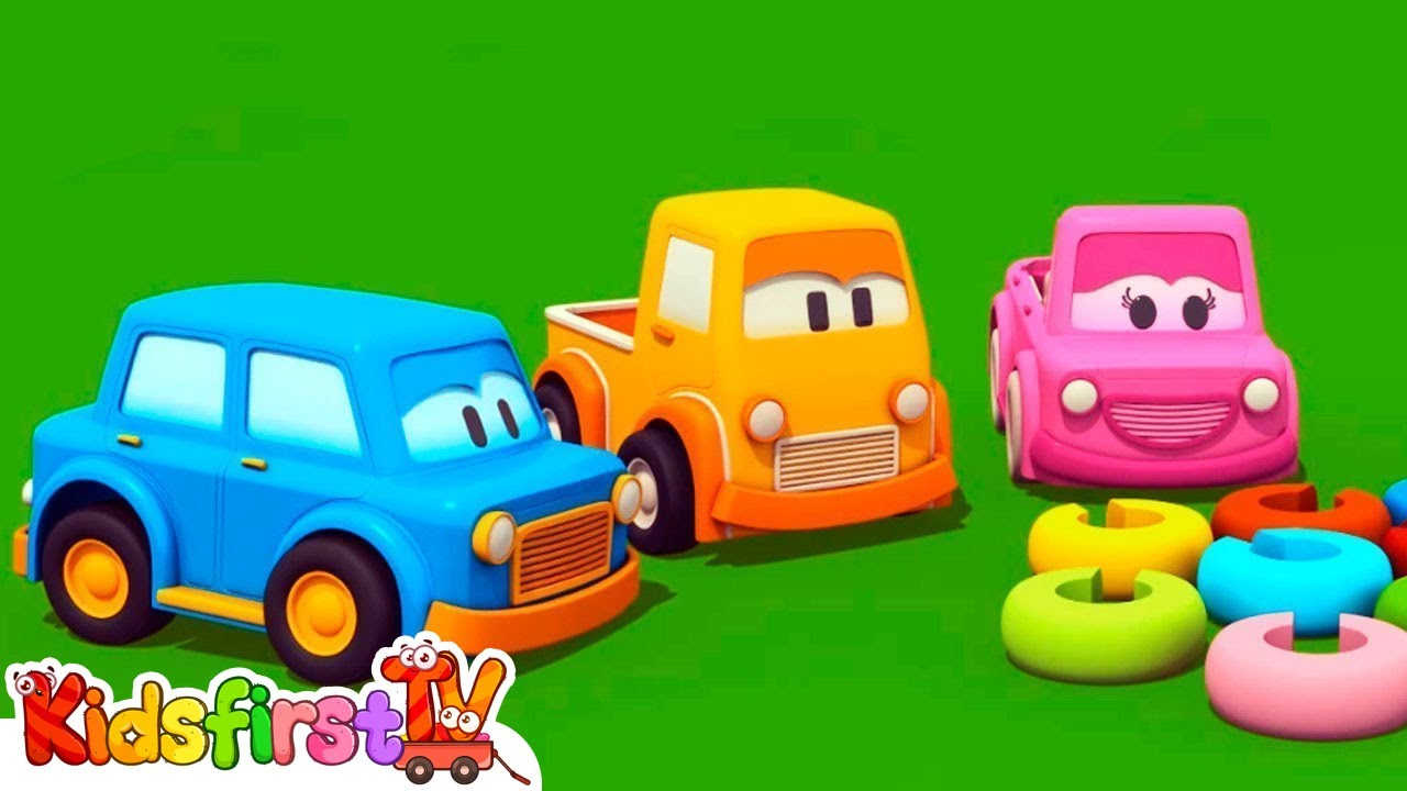 Learn Colors With Clever Cars Learning Videos Youtube