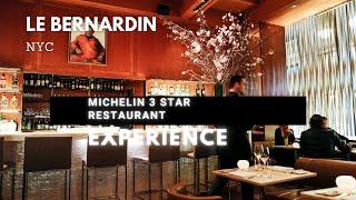 Michelin 3 Star restaurant  experience !