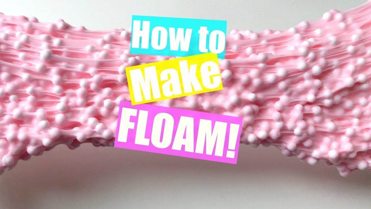 How to Make FLOAM! | Crunchy Slime Tutorial - YouTube