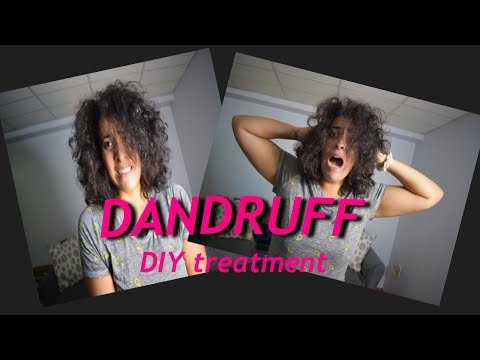 DIY Dandruff & Itchy Scalp Treatment