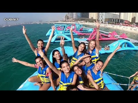 Dubai Aqua Fun at JBR (Jumeirah Beach Residence)