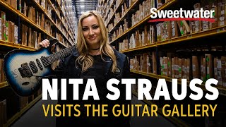 Nita Strauss Visits the Sweetwater Guitar Gallery