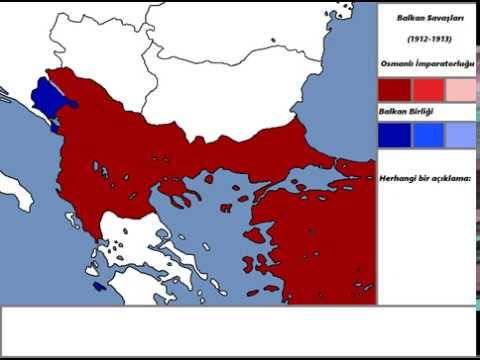 Harita Boyama Balkan Savaşları Youtube