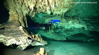 Cave diving Dream Gate & Mexico /EXTREME-DIVE NURKOWANIE LUBUSKIE /ZGORA