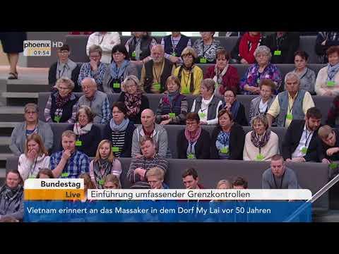 Bundestagsdebatte zur Einführung