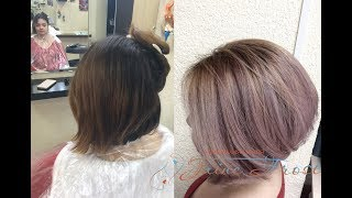 Как сделать модное яркое окрашивание волос