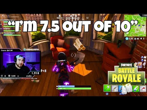 LosPollosTv Rates Himself On Fortnite (Daily Fortnite Highlights #31)