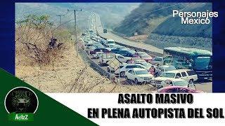 ¿Quién vigila la autopista México - Acapulco? Pasaron a la báscula a usuarios