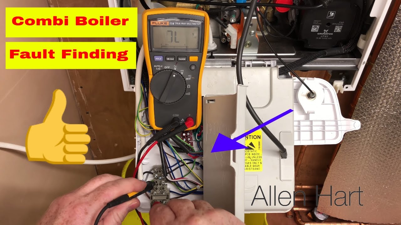 New Gas Boiler Not Working No Power , Fault Finding Heating - YouTube