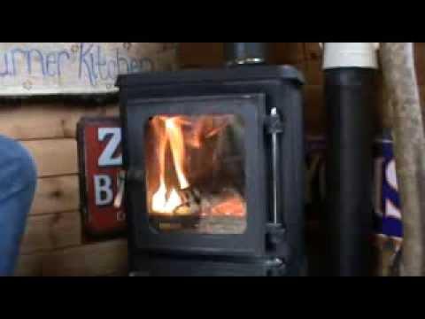 Lighting The Hobbit Small Woodburning Stove Youtube