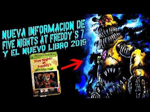 ¡Nueva Información De Five Nights at Freddy's 7 Help Wanted!   Libro Nuevo   Fnaf 8 2019 thumbnail