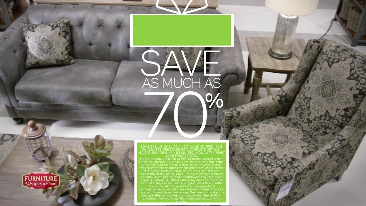 Furniture appliancemart 72 hour black friday weekend furniture sale