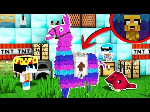 ¡LOS COMPAS SE ESCONDEN DENTRO DE UNA LLAMA DE FORTNITE! 😂🔥 MINECRAFT EL ESCONDITE #34