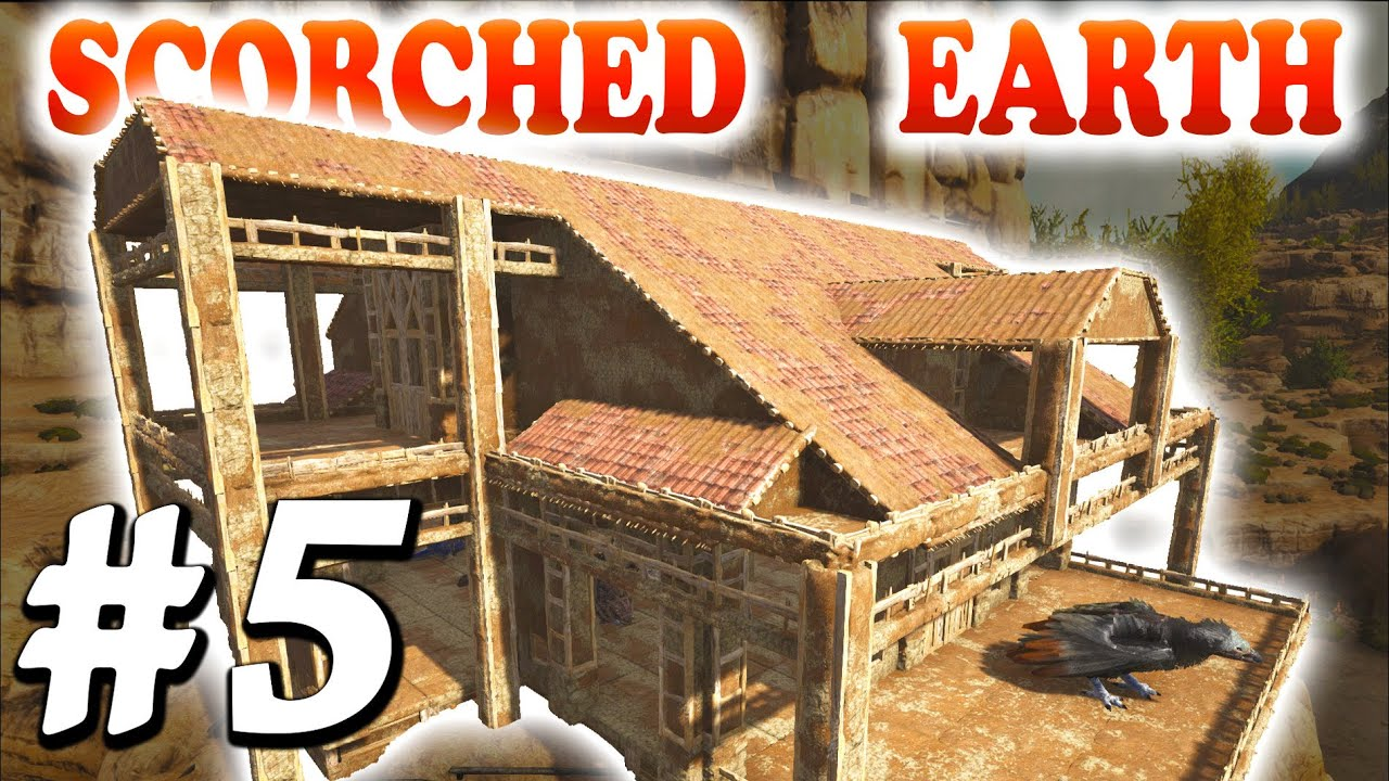 Ark Scorched Earth Ep5 Upper Floor Roof Building