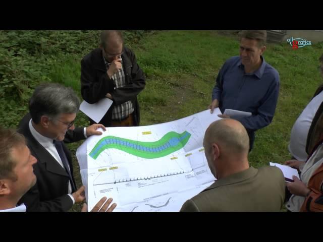 Hellenbach Sinzig - Wehranlage wurde naturiert