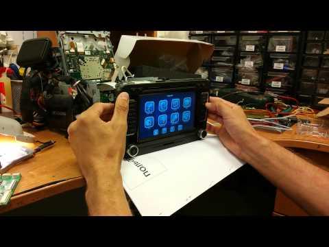 """""""Поломаный"""" видеоинтерфейс+коммутационная плата для мониторов VW RNS510"""