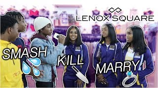 SMASH, MARRY, or KILL!! | Public Interview at Lenox Mall