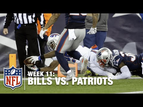 LeSean McCoy Lays Out for the TD, Ties the Patriots! | Bills vs. Patriots | NFL