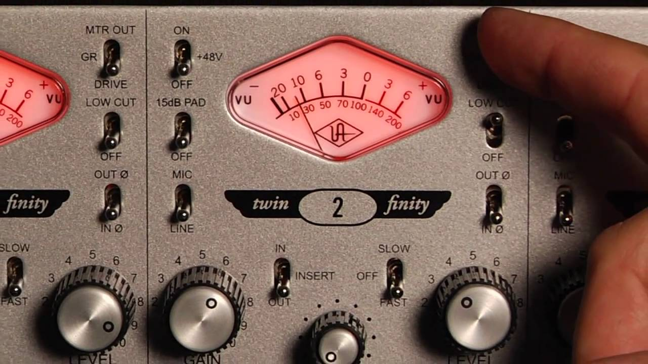 4-710d Four-Channel Tone-Blending Mic Preamp w/Dynamics