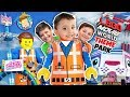 LEGOLAND LEGO MOVIE WORLD THEME PARK! Triple Decker Couch Ride! (FUNnel Family Adventure Vision)