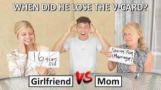 WHO KNOWS ME BETTER??? (MOM vs. GIRLFRIEND)