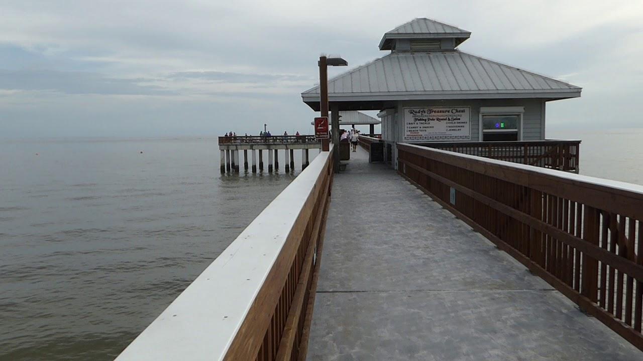 Fishing pier fort myers beach florida september 2017 for Fort myers beach fishing pier