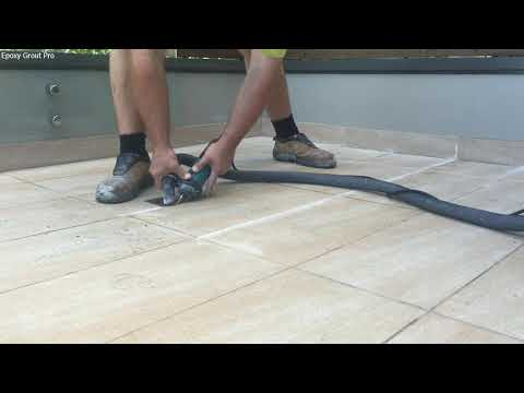 EPOXY Grout PRO Sydney Balcony & Shower Resealing Regrouting With Epoxy Grout