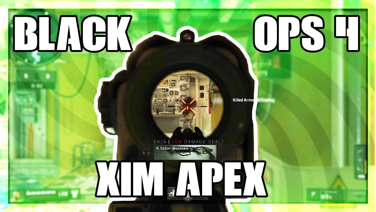 BLACK OPS 4 XIM APEX CONFIGURATION!!!