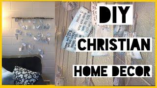 Diy Home Decor | Pinterest Worthy Bible Decor 🙌🏽