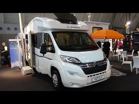 2018 Adria Matrix Axess 590 ST - Citroen - Exterior and Interior - Caravan Show CMT Stuttgart 2018