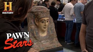 Pawn Stars: The Egyptian Cartonnage Mummy Mask | History