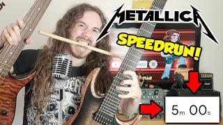 Making A METALLICA Song In 5 Minutes (Speedrun)