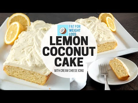 Keto Lemon Pound Cake - Coconut Flour Cake