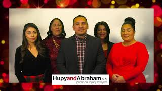 Hupy and Abraham, S.C. Telemundo Holiday Greeting