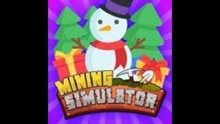 Roblox [🎄CHRISTMAS🎄] Mining Simulator Neue Codes