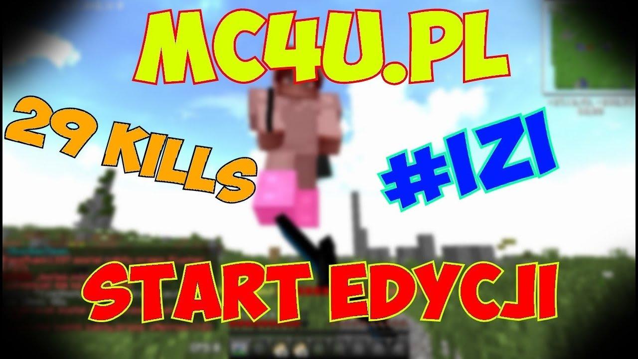 [MC4U.PL] | GENIALNY START EDYCJI! | 29 KILLS! | DANIO – MASZYNA DO ZABIJANIA |   W/HUBERT20002
