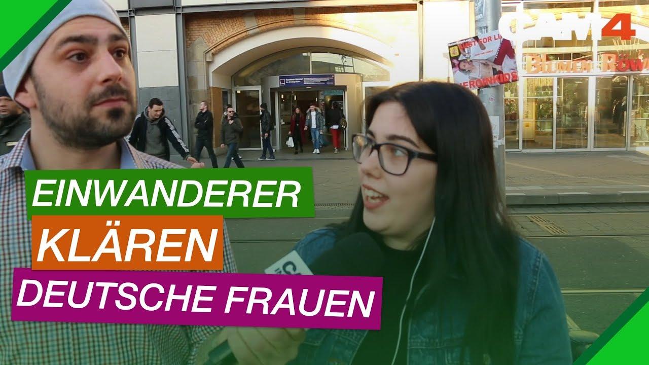 Wie Ausländer sich Deutsche Frauen klar machen - YouTube