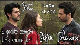 Hadise - Sıfır Tolerans Albanian Lyrical | Kemal and Nihan | Kara Sevda