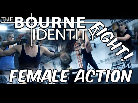 Female Fight Action   Bourne Identity