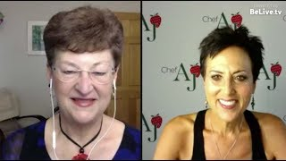Healthy Living with Chef AJ - Interview with Jeanne Schumacher, Ed.D.